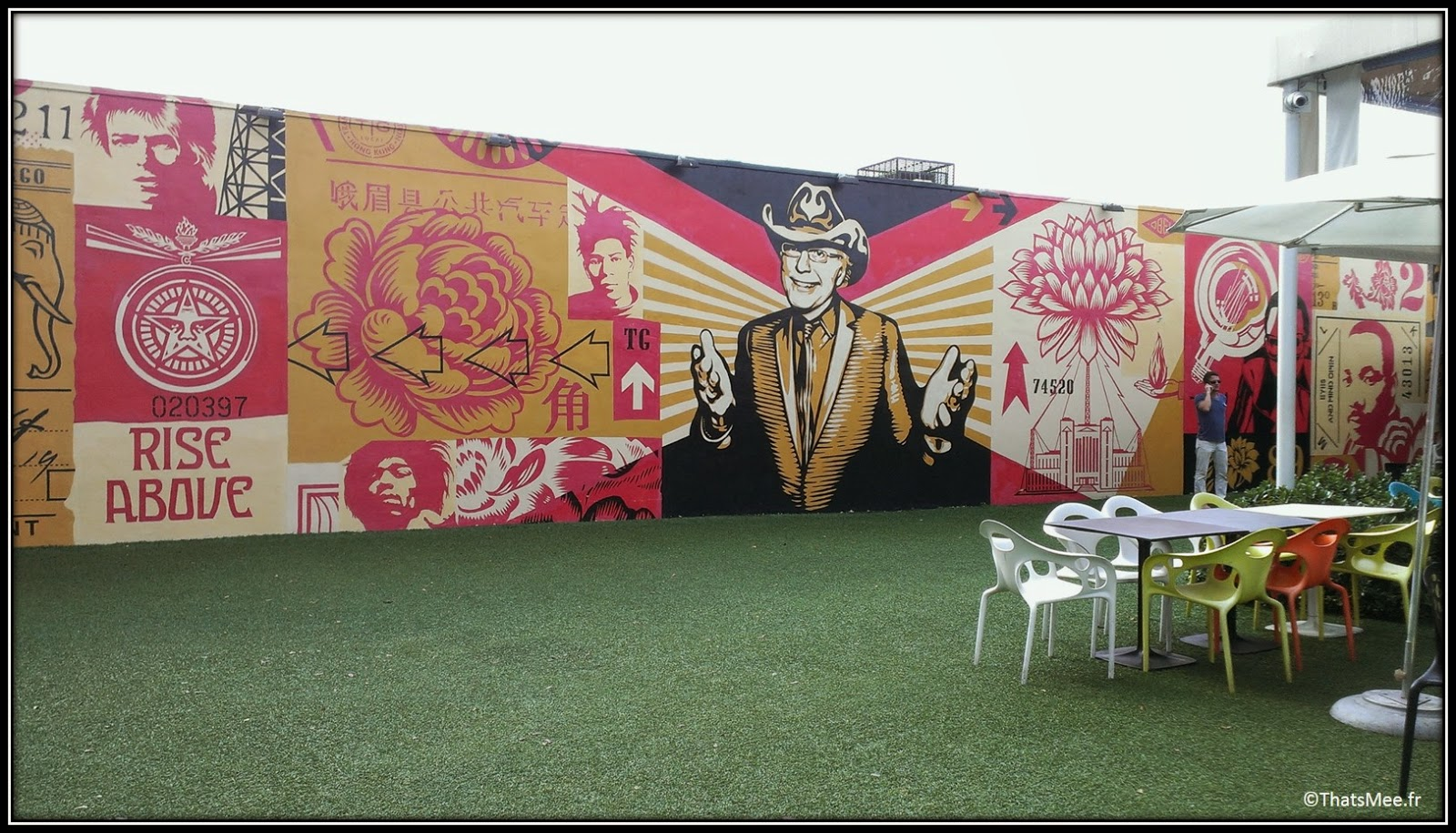 Wynwood kitchen and bar terrasse Miami street art