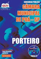 Apostila concurso Câmara Municipal de Poá-SP PORTEIRO