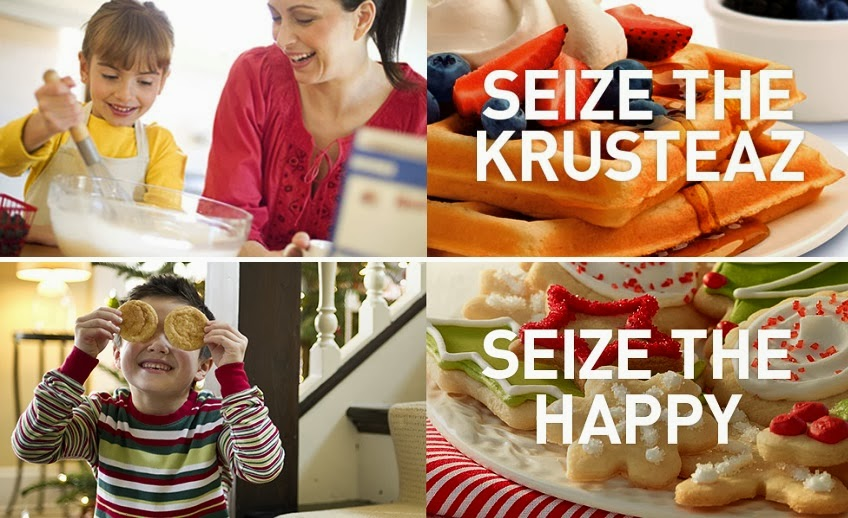 Seize the holidays krusteaz