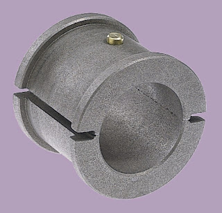 GRAPHALLOY Split Bushings for Continuous Screw Conveyor Service