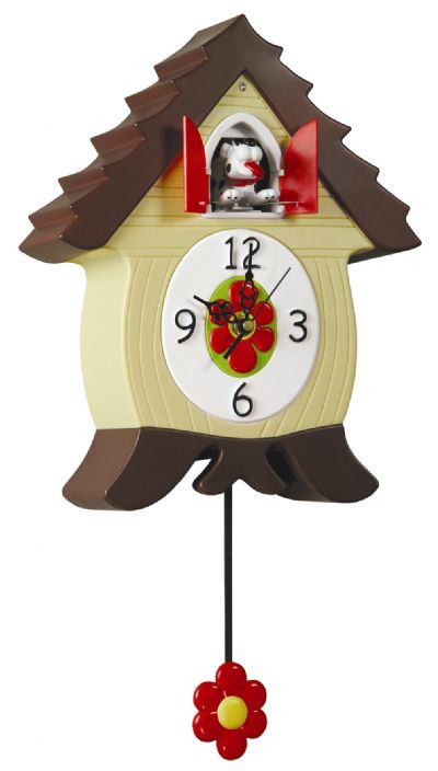 Cuckoos and other animated clocks mental floss - Funky cuckoo clock ...