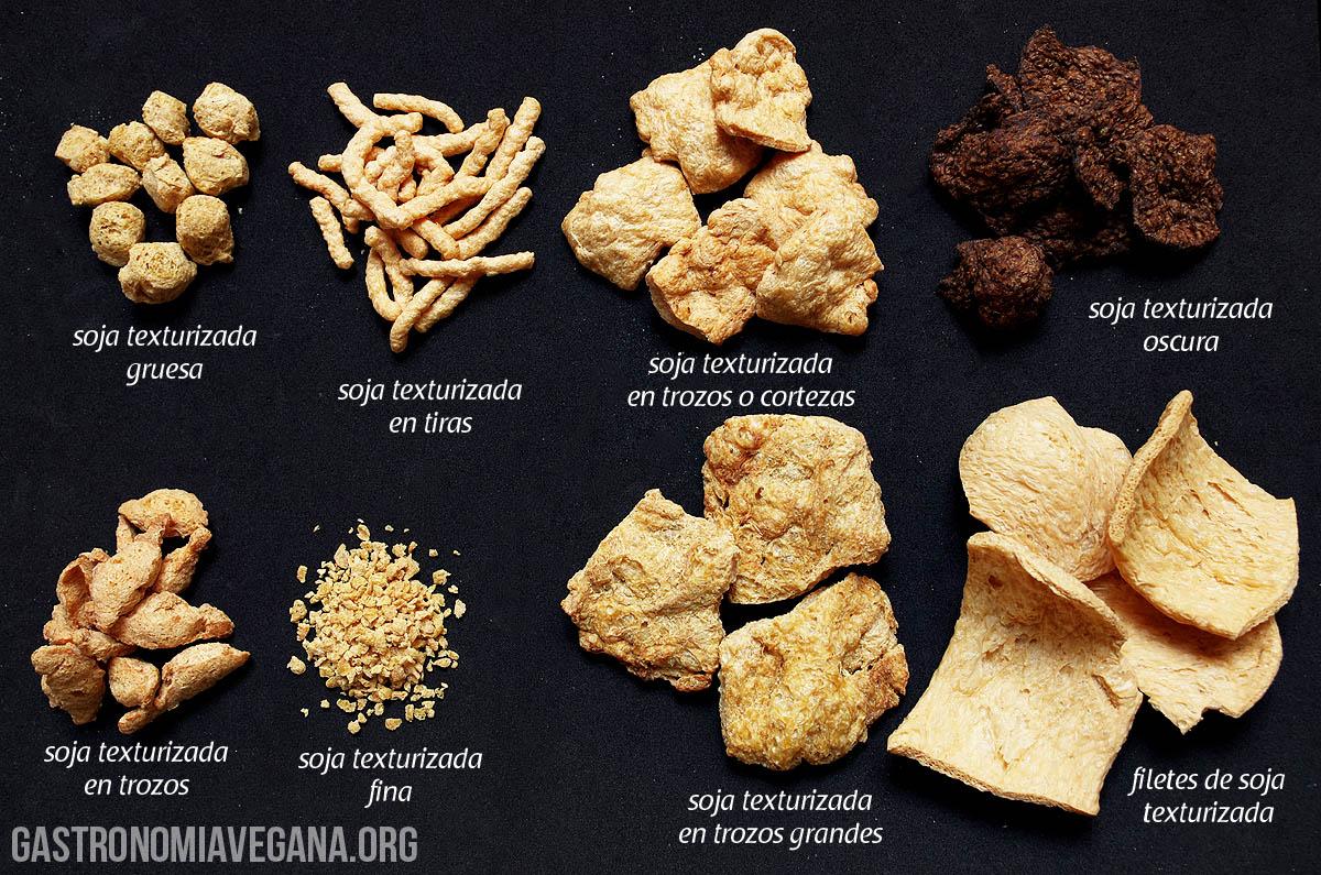 Delicias de la tierra la soja texturizada - Como cocinar soja texturizada ...