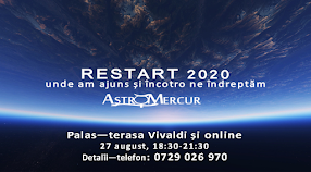 Restart 2020, seară de astrologie.