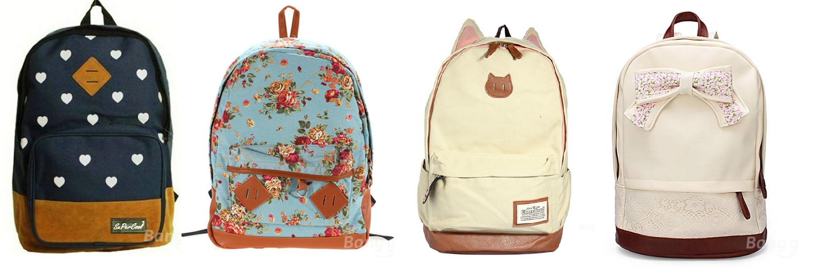 Cute Girly Backpacks - Crazy Backpacks