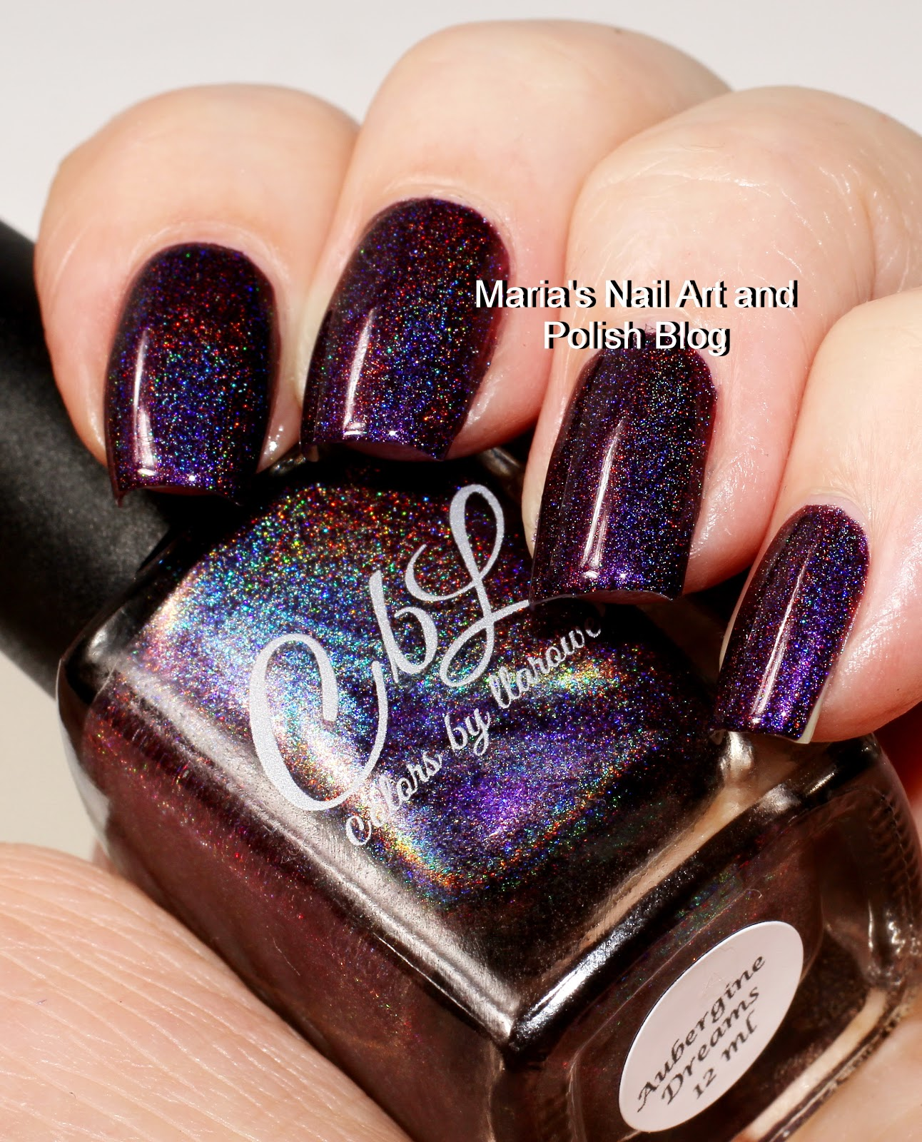 Colors By Llarowe Aubergine Dreams Is From The Fall 2017 Collection It S A Gorgeous Eggplant Purple Holo With Lovely Depth