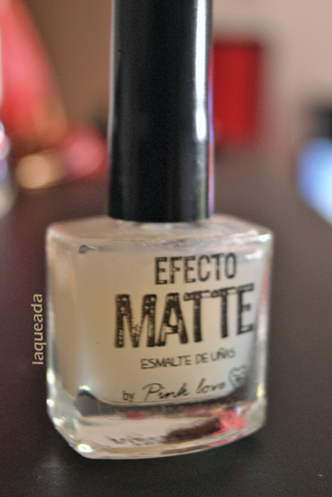 Pink Love - Efecto Matte