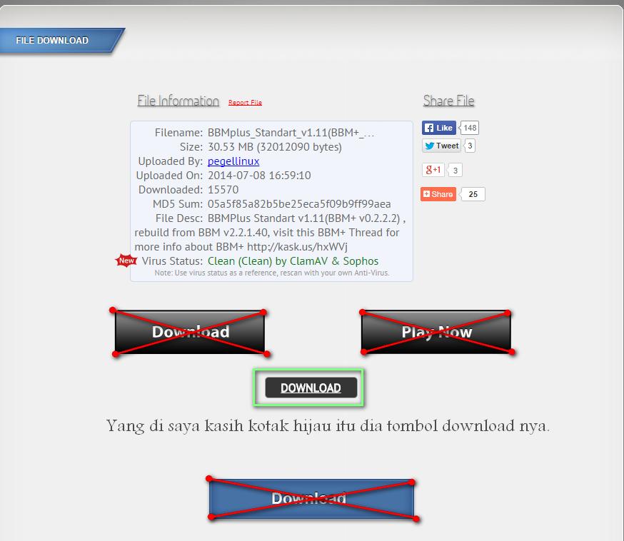 Cara Download di Dev-host