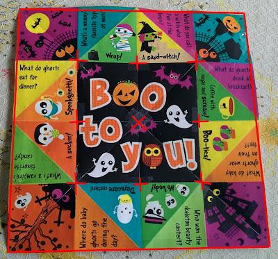 Halloween Cootie Catcher/ Fortune Teller