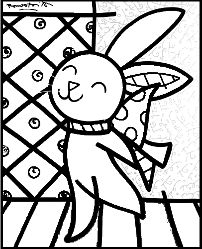 Free Coloring Pages Of Britto Romero Britto Coloring Pages