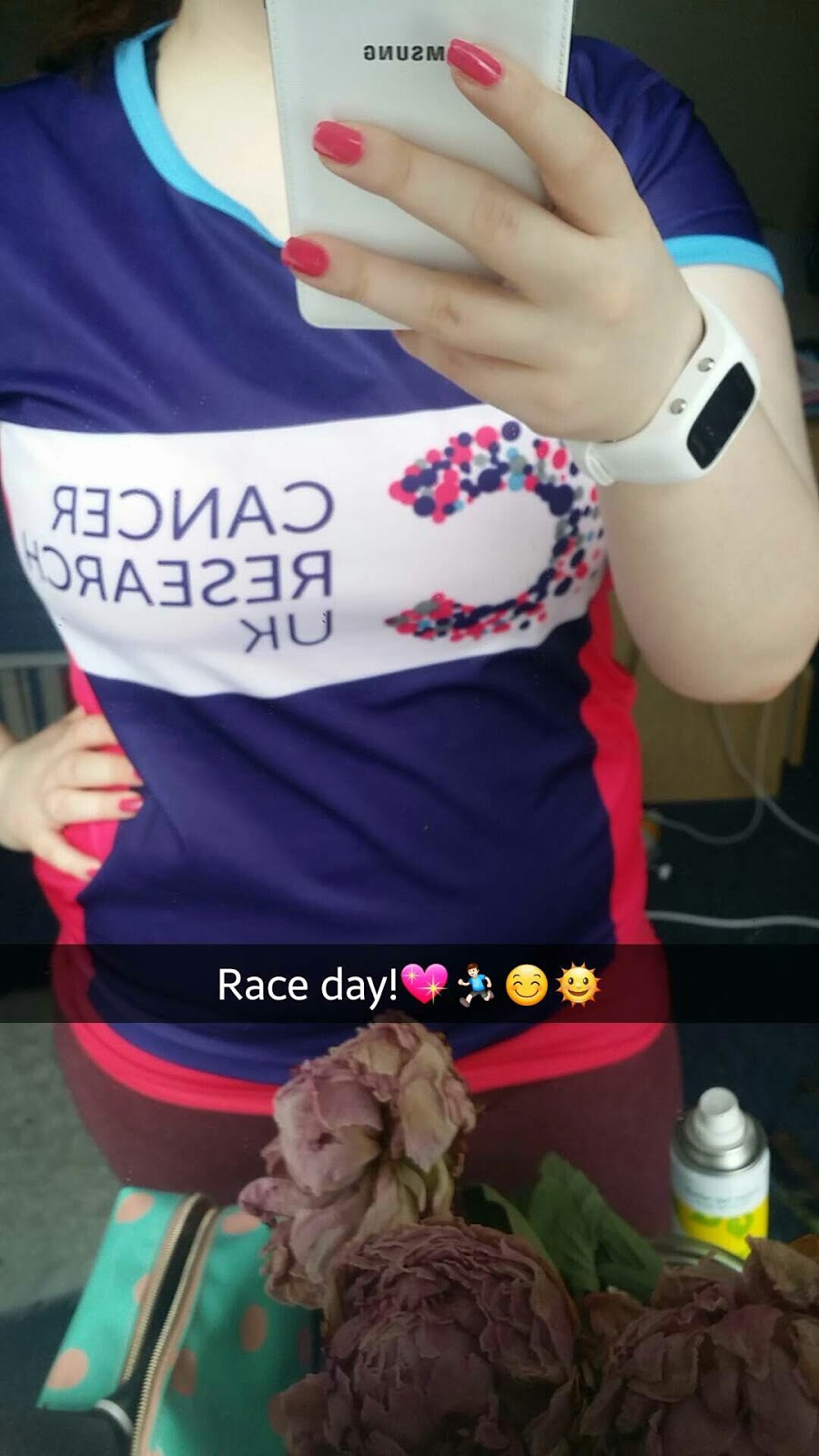 My First Ever Race: Race for Life 5K!