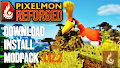 HOW TO INSTALL<br>Pixelmon Reforged Modpack [<b>1.12.2</b>]<br>▽