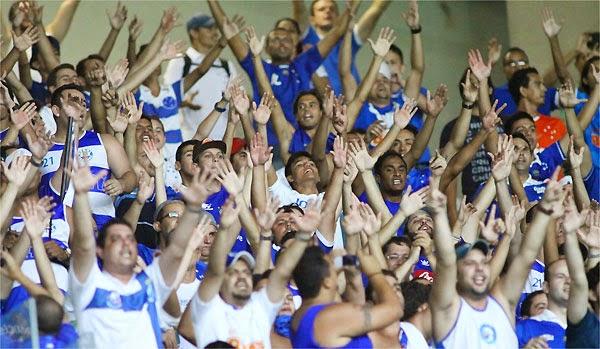 O Cruzeiro ultrapassou o Flamengo e agora assumiu a terceira posição no  ranking de sócios-torcedores. Segundo o site Futebol Melhor ac287ea399941