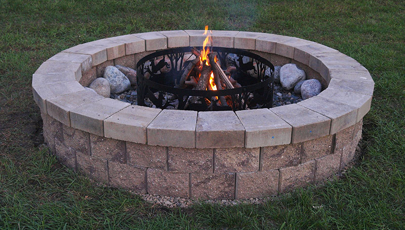 The allan block blog how to build your own fire pit for Make a fire pit cheap