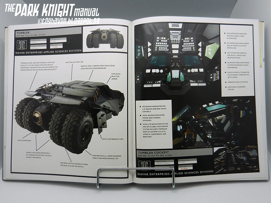 the dark knight manual tools  weapons  vehicles and the dark knight manual book the dark knight manual book