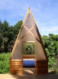 Relaxshacks Com Quot Good A Quot Mate An A Frame Tiny Cabin