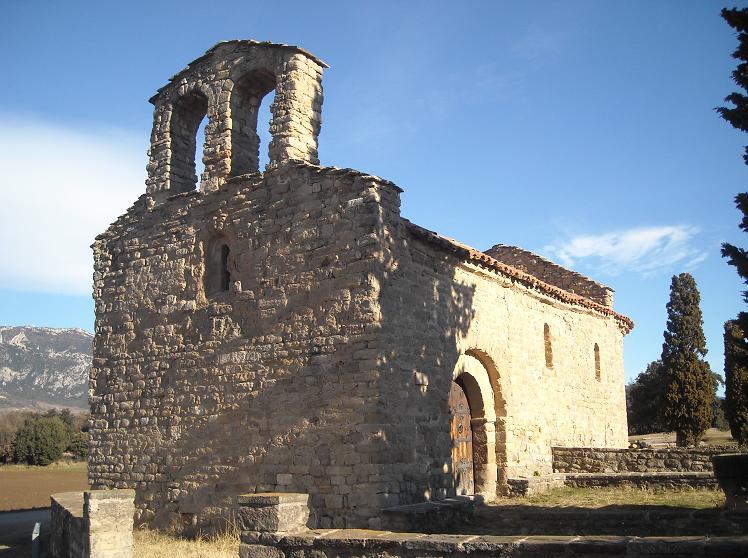 Iglesia Santa Maria d\'Avià - románico | aquí y ahora