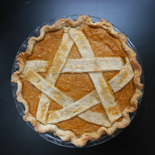 Pentagram Sweet Potato Pie | Nothing in the House