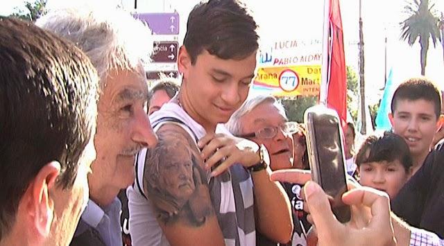 Tatuaje de José Pepe Mujica