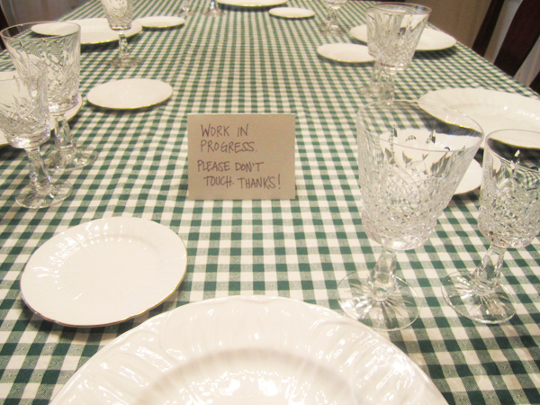 Very Fond Of: Easter Table Setting