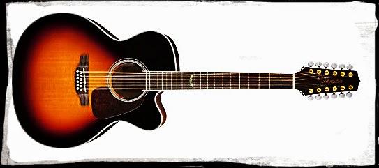 Takamine GJ72CE-12BSB Jumbo Cutaway 12-String Acoustic-Electric Guitar Deal
