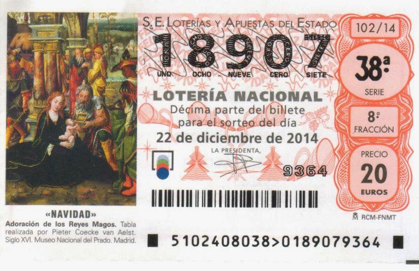 LOTERIA DE NAVIDAD CLUB WATERPOLO MARBELLA