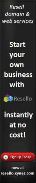 Start your own business with Resello instantly at no cost! Sign up today now at resello.xynez.com