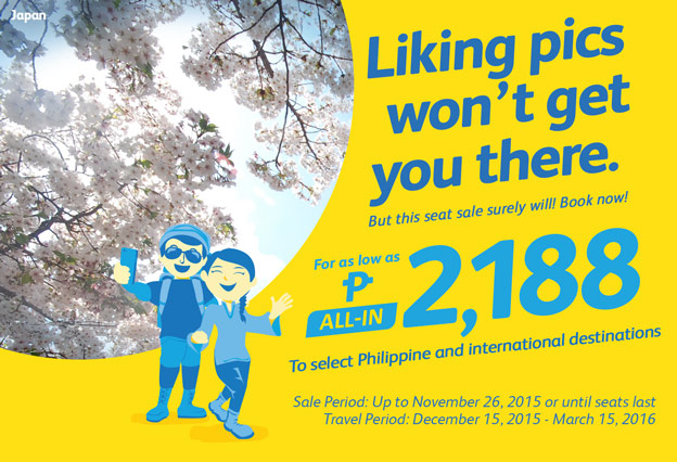 Cebu Pacific Domestic and International Promo Flights 2016