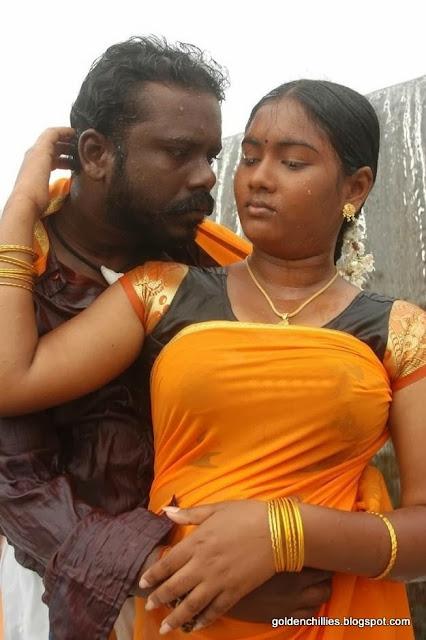 wet saree images