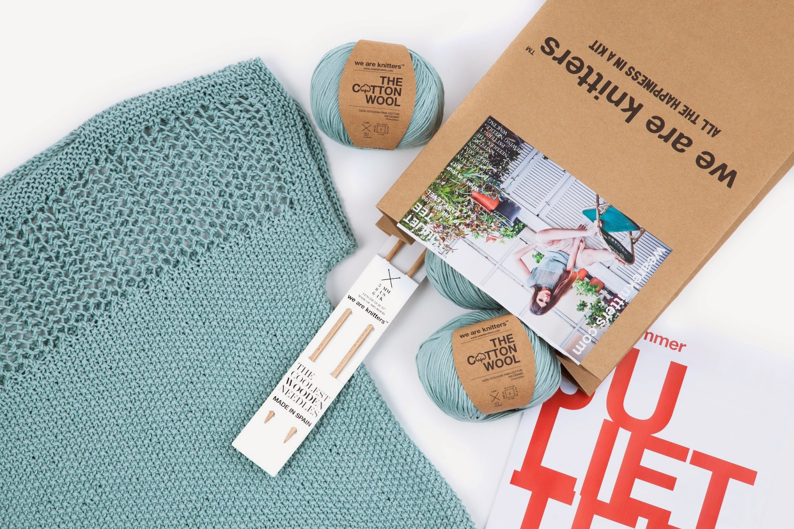 Kit de punto Juliet tee de We are knitters