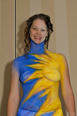 Full Body Painting On Women