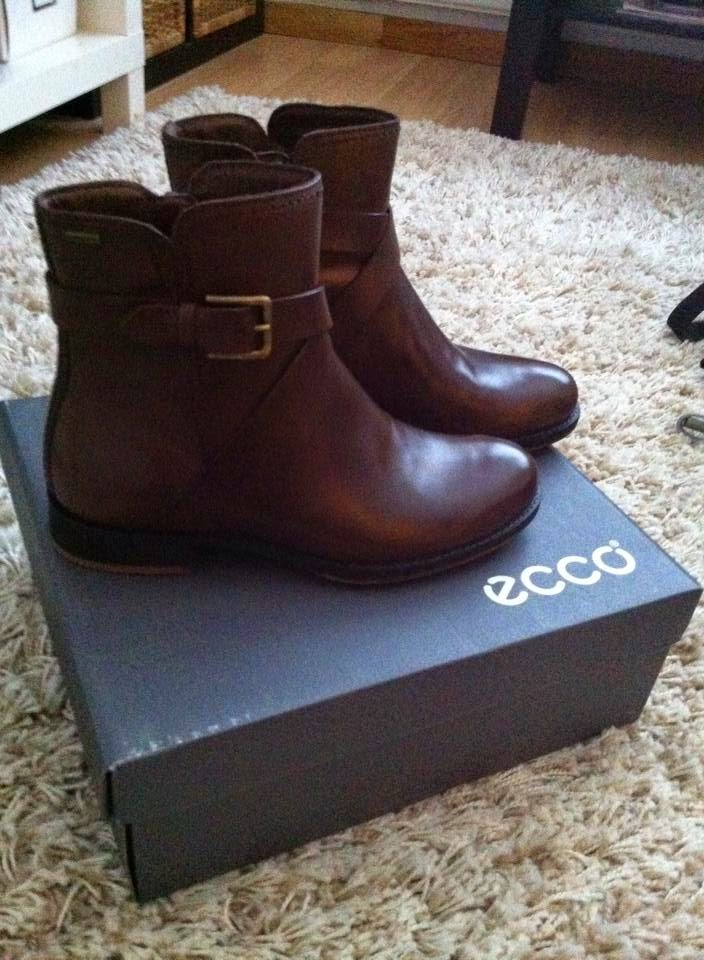 ecco, ecco kengät, ecco shoes, nilkkurit, ecco nilkkurit, nahka, leather, core-tex, ecco core-tex, cocoa brown, ruskea, ankle boots, ecco saunter, ecco saunter ankle boots,