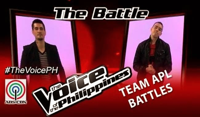 Watch Bradley Holmes vs Jason Fernandez on The Voice of the Philippines Team Apl's Battles Round