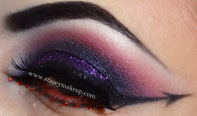 helloween makeup look