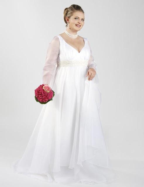 Rosabella Couture-Groß Größe Brautkleider