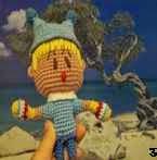 free amigurumi pattern doll Mirumo