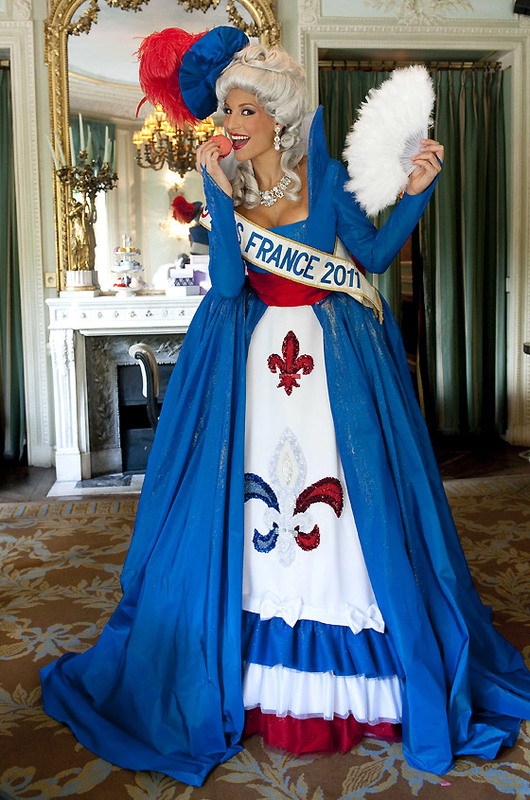 Miss Universe France 2011 Laury Thilleman's National Costume
