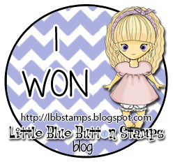 Little Blue Button Stamps winner