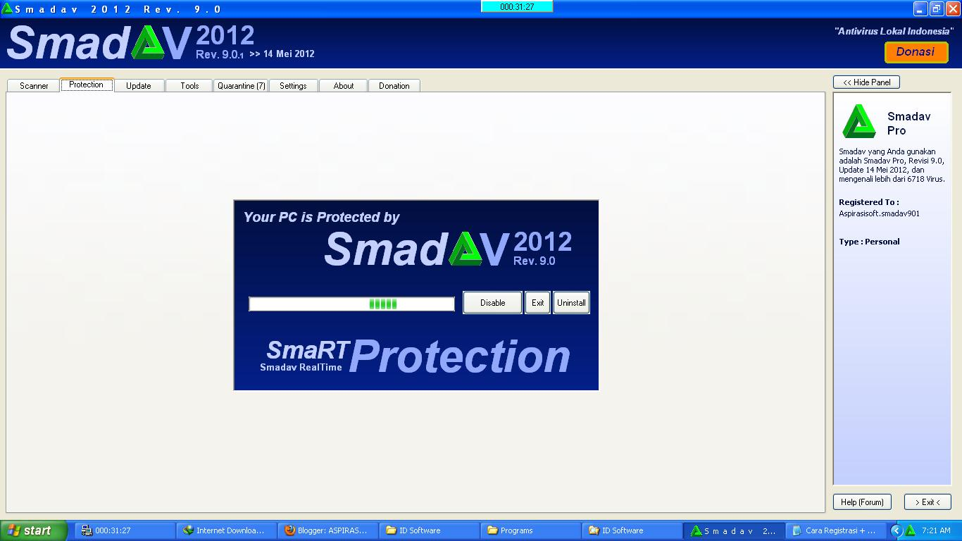 Smadav 2012 Rev. 9.0 Pro Full Serial Number - Mediafire