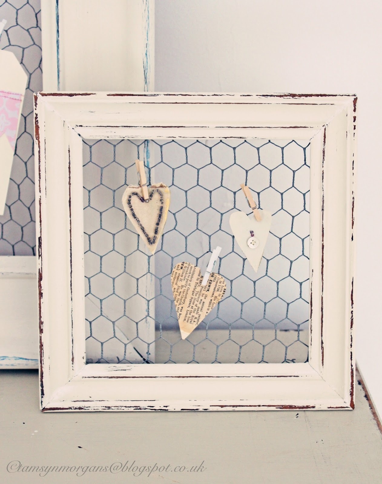upcycled picture frames the villa on mount pleasant