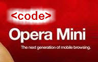 Kode Rahasia Opera Mini