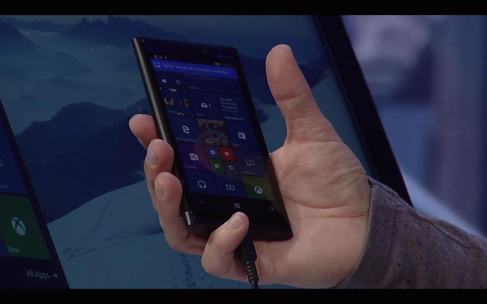 Windows phoneがデスクトップPCになる「Continuum for Phones」