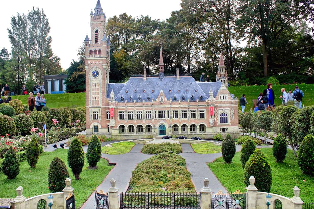 Vredespaleis or the Peace Palace in The Hague
