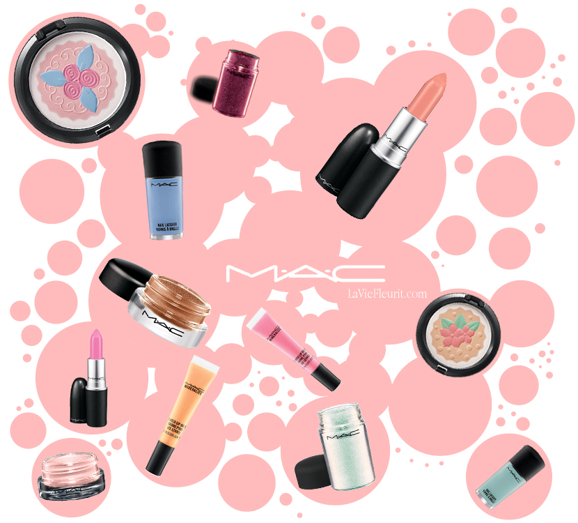 Belle Beauty | M.A.C.'s Pastries Pastels by La Vie Fleurit!!! Beauty, Collection, Concept, Make-Up, Store, Shop, Webshop, Must Have, Wish List, Trends, Spring/Summer, Colours, Brand, Makeup, Make Up, Pastel, Pastels, Nailpolish, Lipstick, Lipgloss, Blusher, Cute, Cupacake, Baling, Beauties, Eyeshadow, Shimmer, Glitter, Sparkle, Blog, BBlogger