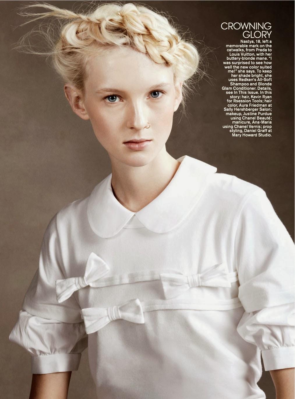 Magazine Photoshoot : Charlotte Carey, Victoria Brito, Solomiya Zgoda, Nastya Sten And Vickie Sorensen Photoshoot