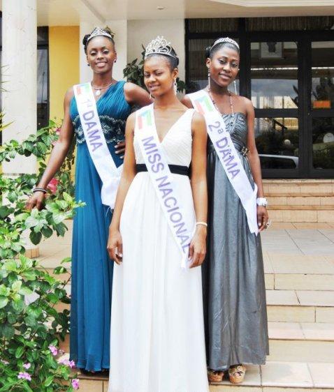 Lidia Avomo (EQUATORIAL GUINEA 2012)  Miss+equatorial+guinea+2011+semifinalists