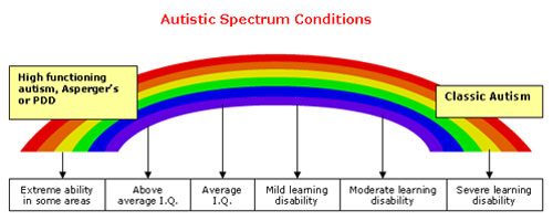 Autisms Full Spectrum >> My Aspergers Child Autism Spectrum Disorders Pervasive
