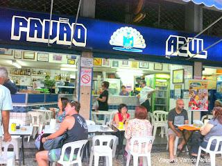 Bar e Restaurante Pavão Azul, Rio de Janeiro, Copacabana