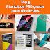 Top 5 plantillas PSD gratis para Mock-Ups