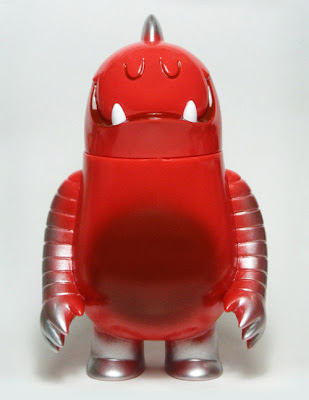 Super7 x Invisible Creature Red with Silver Spray Leroy Vinyl Figure