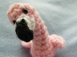 Amigurumi Hamburger Pattern Free : 2000 Free Amigurumi Patterns: Roy the Flamingo Crochet Pattern